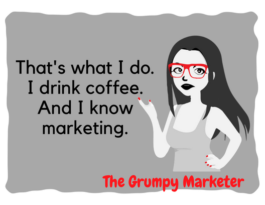 Proudly introducing… The Grumpy Marketer's new logo